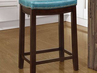 linon Claridge 26  Backless Wood Counter Stool  Multiple Colors
