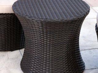 Abbyson Newport Outdoor Wicker End Table Retail 79 98