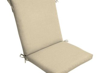 Arden Selections New Tan leala Texture Outdoor Chair Cushion   44 in l x 20 in W x 3 5 in H set of 6