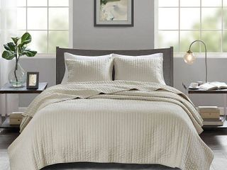 Home Essence Mitchell 3 Piece Reversible Coverlet Set