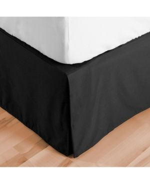 Bare Home Double Brushed Bed Skirt  Full Bedding