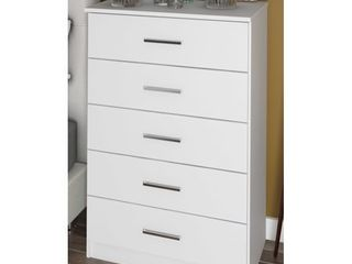 Solid Wood Metro 5 Drawer Chest by Palace Imports  Retail 342 49