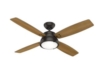 Hunter 52  Wingate Ceiling Fan with Tunable lED light Kit and Remote Control  Retail 249 99