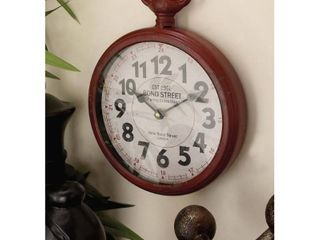 Decmode Traditional 11 Inch Pocketwatch Style Wall Clocks