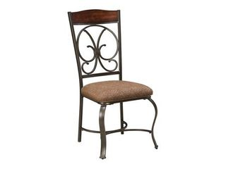 Glambrey Dining Room Chair   Set of 4   Brown   Retail 314 99