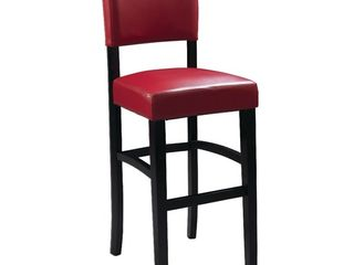 linon Monaco Counter Stool  24 inch Seat Height  Multiple Colors