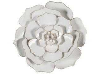 luxen Home Flower Metal Wall Art