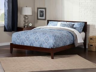Atlantic Orlando Walnut Finish Wood Queen Size Headboard onlyPlatformRetail 338 49