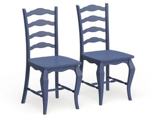 The Curated Nomad Isabella 2 piece Dining Chairs Set  Retail 307 99