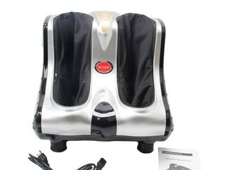 Smart Kneading Rolling Vibration Shiatsu Foot Calf leg Massager 110V US Plug  Retail 157 99