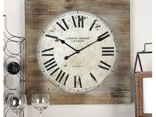 The Gray Barn Jartop Wood Wall Clock  Retail 116 49