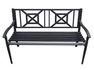 Maypex 4 FT Steel Garden Bench  Retail 131 49