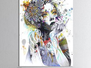 Designart  Circulation  Modern   Contemporary Canvas Artwork