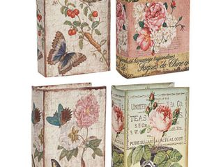 Book Boxes   Set of 4   A B Home