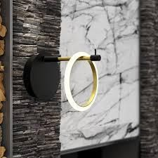 Glow s Avenue 1 light loop Ring Wall Sconce  Retail 116 99