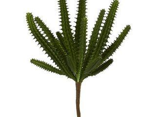 8  Finger Cactus Artificial Plant  Set of 12
