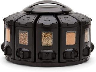 KitchenArt 25004 Select A Spice Auto Measure ProCarousel  Black