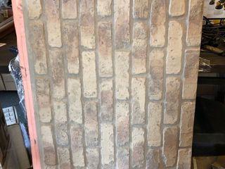 Faux Brick Paneling  set of 8