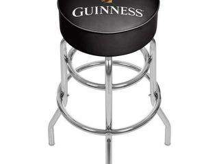 Guinness Chrome Bar Stool with Swivel