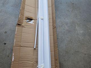 4 Pk 43ainx 64in Cordless 1in Privacy Shade Vinyl Mini Blind White 0889872