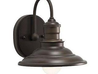 allen   roth Hainsbrook 1 light Bronze Industrial Vanity light