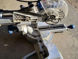 Kobalt Compact Sliding 7 1 4 in 10 Amp Single Bevel Compound Miter Saw