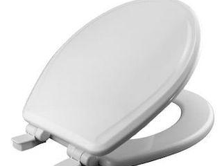 Church White Round Slow Close Toilet Seat