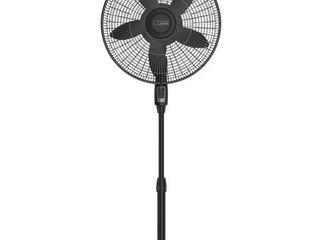 lasko 18 inch Remote Control large Room Pedestal 4 Speed Fan  Model S18605