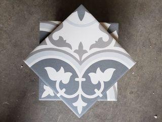 Stack of Decorative Floor Tiles  15