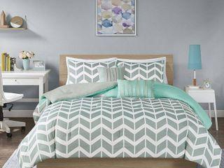 Elle Chevron 5 piece Comforter Set by Intelligent Design
