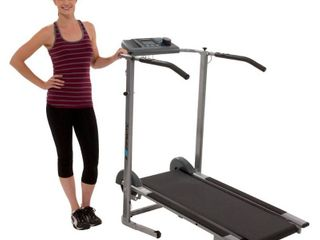 Exerpeutic 100Xl High capacity Magnetic Resistance Manual Treadmill  Retail 272 99
