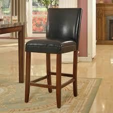 homepop 29 inch luxury Faux leather Barstool  Retail 86 99