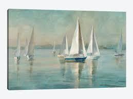 iCanvas  Sunrise Sailboats I  by Danhui Nai  Retail 100 99