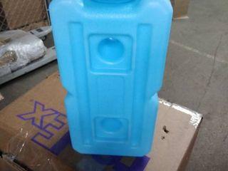water freezer jug blue plastic