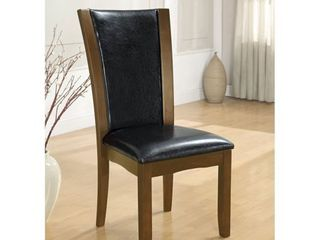 Furniture of America Row Contemporary Dining Chairs  Set of 2  Retail 202 99
