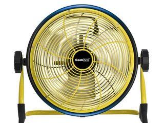 geekaire 12  Rechargeable Outdoor High Velocity Fan