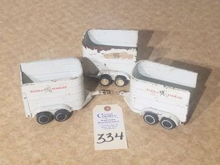 3 Mini Tonka Stables Trailers