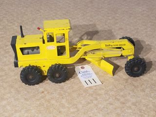 Tonka yellow road grader Mound  Minn
