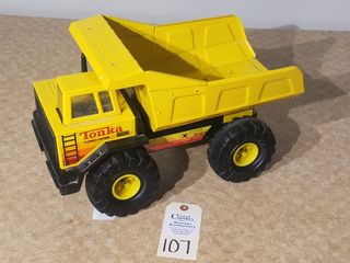 Tonka turbo diesel yellow dump truck