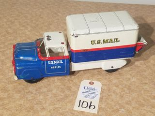 MAR US mail truck  622145 lic Plate 1 77 R