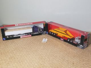 Die cast Peterbilt semi tractor trailer