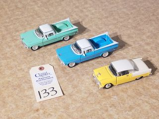 Metal die cast 1960 El Camino blue