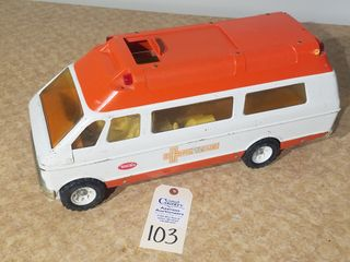 Tonka rescue orange   white