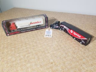 Mini Tonka Super Valu semi truck