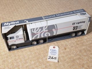Nylint NOS GE lighting Semi Tractor