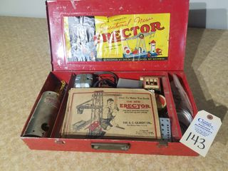 Vintage AC Gilbert Erector set