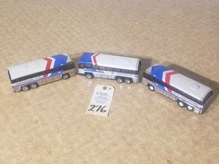 3  Buddy l Metal Buses