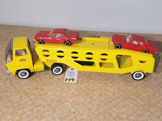 Tonka yellow car carrier