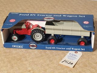Ertl Ford 8N tractor and wagon