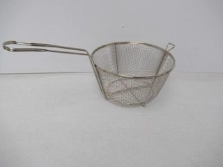 As is  Winco FBR 9 Steel Round Wire Fry Basket